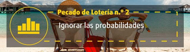Teaser n.º 2 sobre error de la lotería  - Ignorar las probabilidades