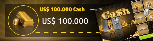 Imagen con la raspadita US$ 100.000 Cash y su premio mayor