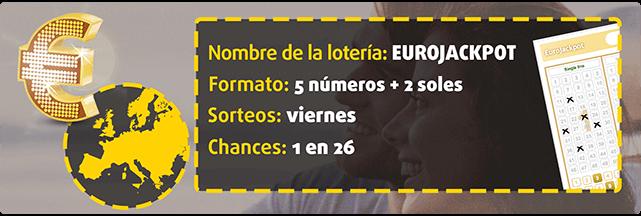 Formato, sorteos y chances de ganar la lotería EuroJackpot